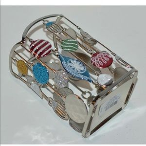 ORNAMENTS GLITTER GENTLE HAND SOAP HOLDER